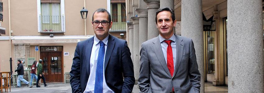 José Antonio Castañeda Pérez y Juan Ignacio Hernández García de SportLex.