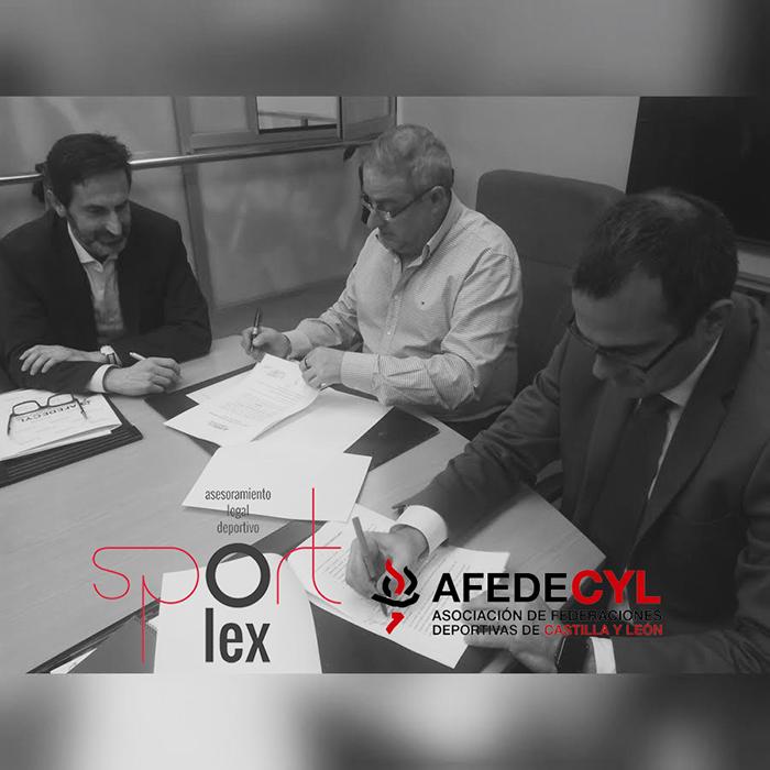 Sportlex, nuevo asesor jurídico de los socios de AFEDECyL